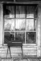 Front Porch, Abandoned House, Unity, Oregon
