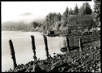 Boat Barn, Along the Lower Alsea, Oregon