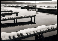 Docks at Odell Lake, Willamette Pass, Oregon Cascades