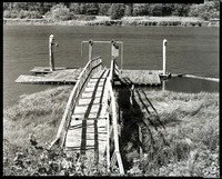 Abandoned Dock, Along the Lower Alsea, Oregon