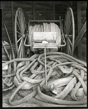 Fire Hose Cart, Antelope, Oregon