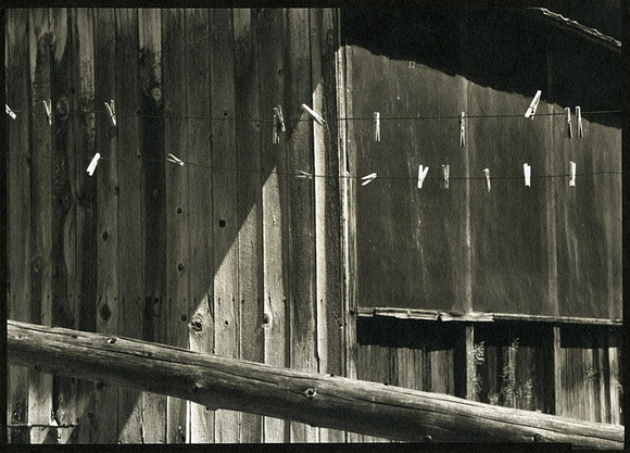 Clothesline, Riddle Ranch, Steens Mt., Oregon